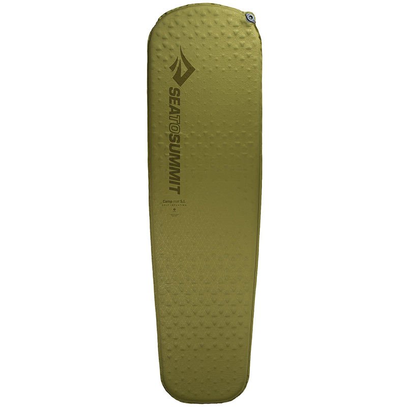Коврик самонадувающийся Sea To Summit Camp Mat Self Inflating (Large, Olive)