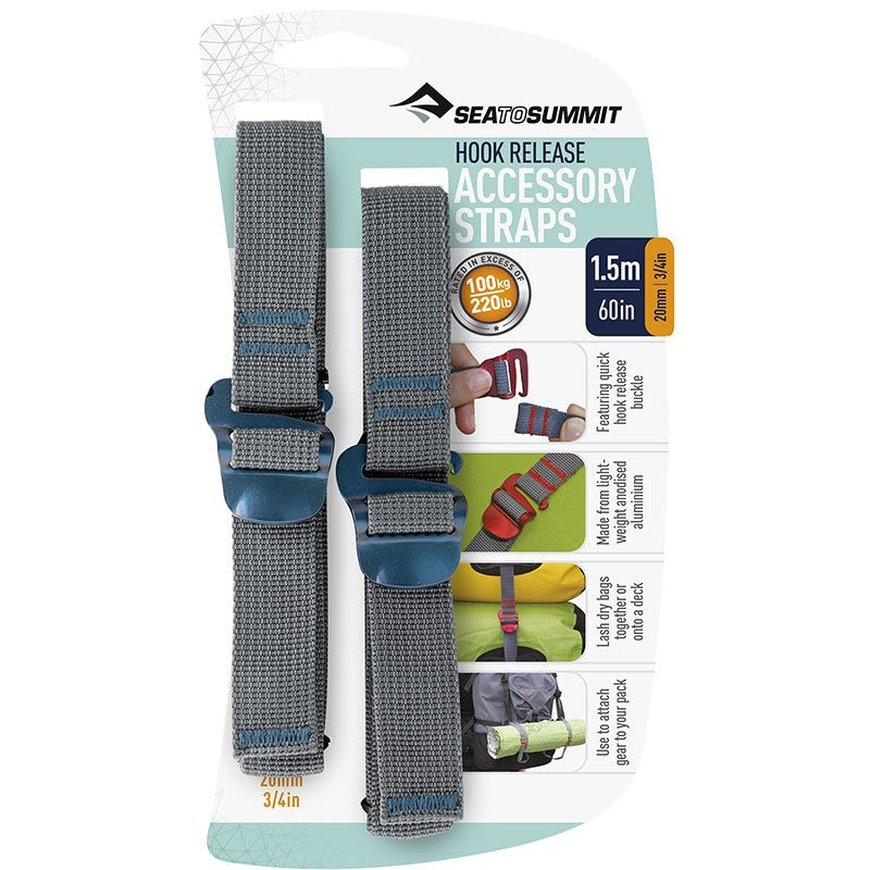 Стропа Sea To Summit Accessory Strap with Hook Buckle 20mm
