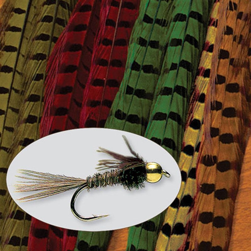 Перо Orvis Pheasant Tail (Black, Фазан)