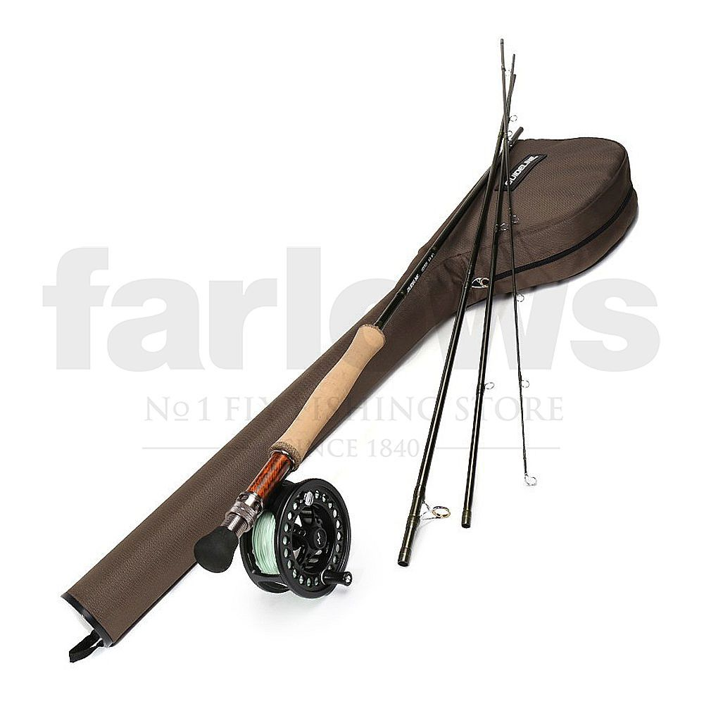Набор Guideline Kispiox Fly Fishing Kit (Seatrout #7, 9.6ft, #7)