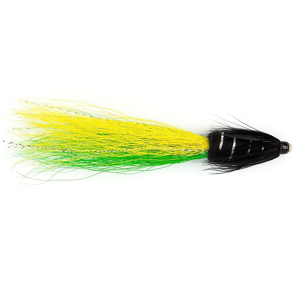 "Мушка SF Snaelda-Yellow/Green Copper Tube (1"")"