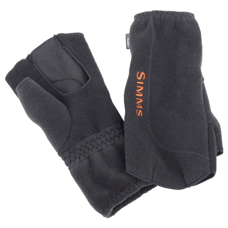 Перчатки Simms Headwaters No Finger Glove (L, Black)