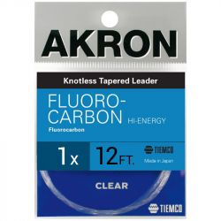 Подлесок TMC Akron Fluoro Hi-Energy Leader (1X, 12 ft)