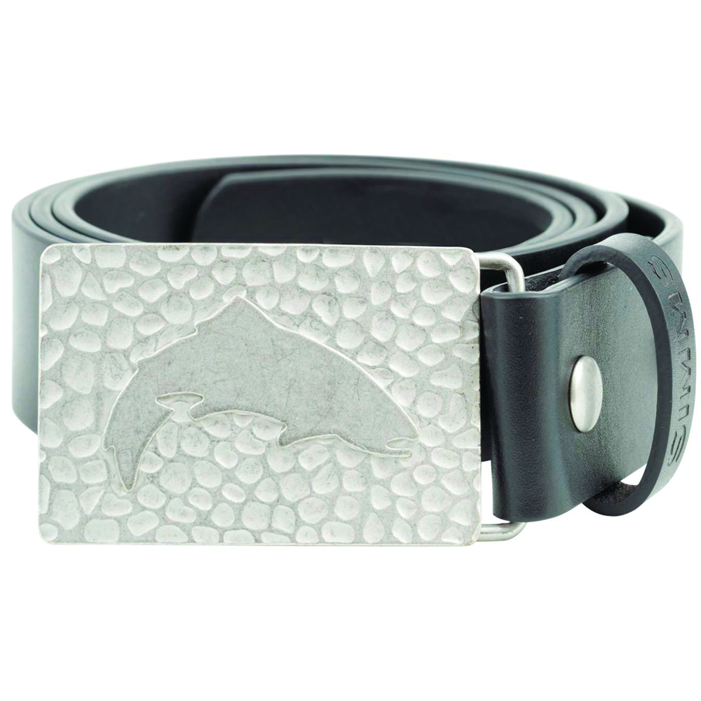 Ремень Simms Big Sky Belt (L/XL, Black)