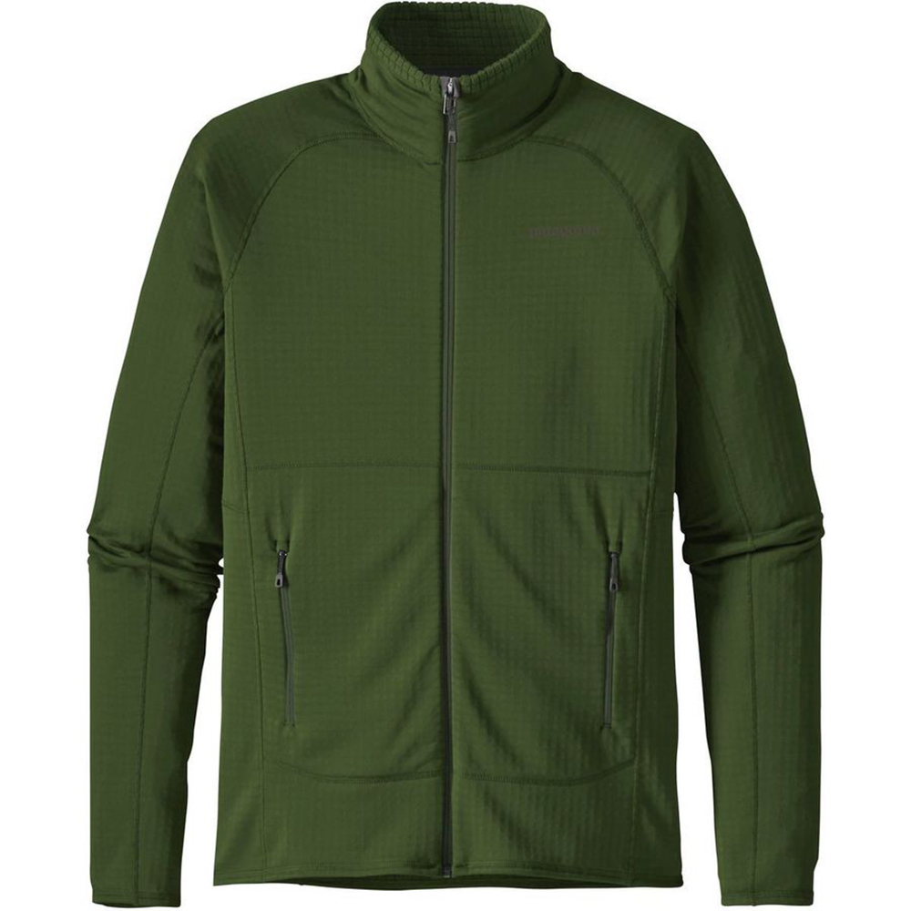 Куртка Patagonia R1 Full-Zip Fleece Jacket (S, Glades Green)