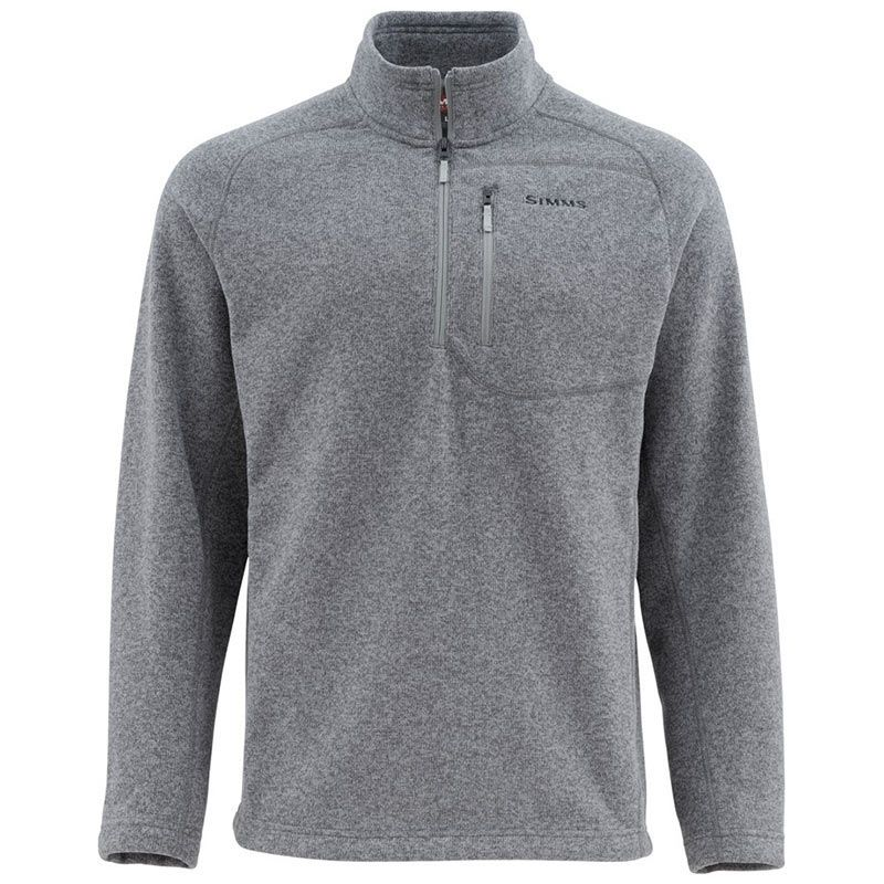 Пуловер Simms Rivershed Sweater (XXL, Steel)