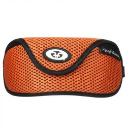 Чехол для очков Flying Fisherman Sunglass Case With Clip (Orange Mesh)