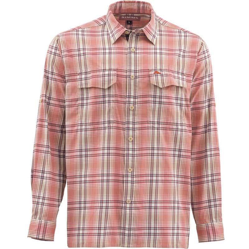 b0d6e41f0912 Рубашка Simms Legend LS Shirt (L, Harbour Blue Plaid) - купить с ...