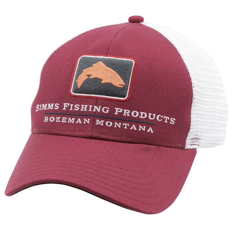 Кепка Simms Trout Icon Trucker Cap (Rusty Red)