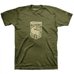 Футболка Simms Catch & Release T-Shirt