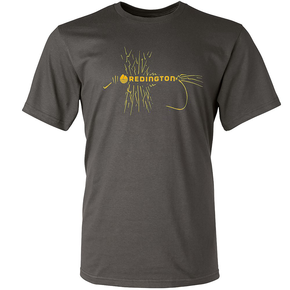 Футболка Redington Electric Mayfly Tee SS (M, Charcoal)
