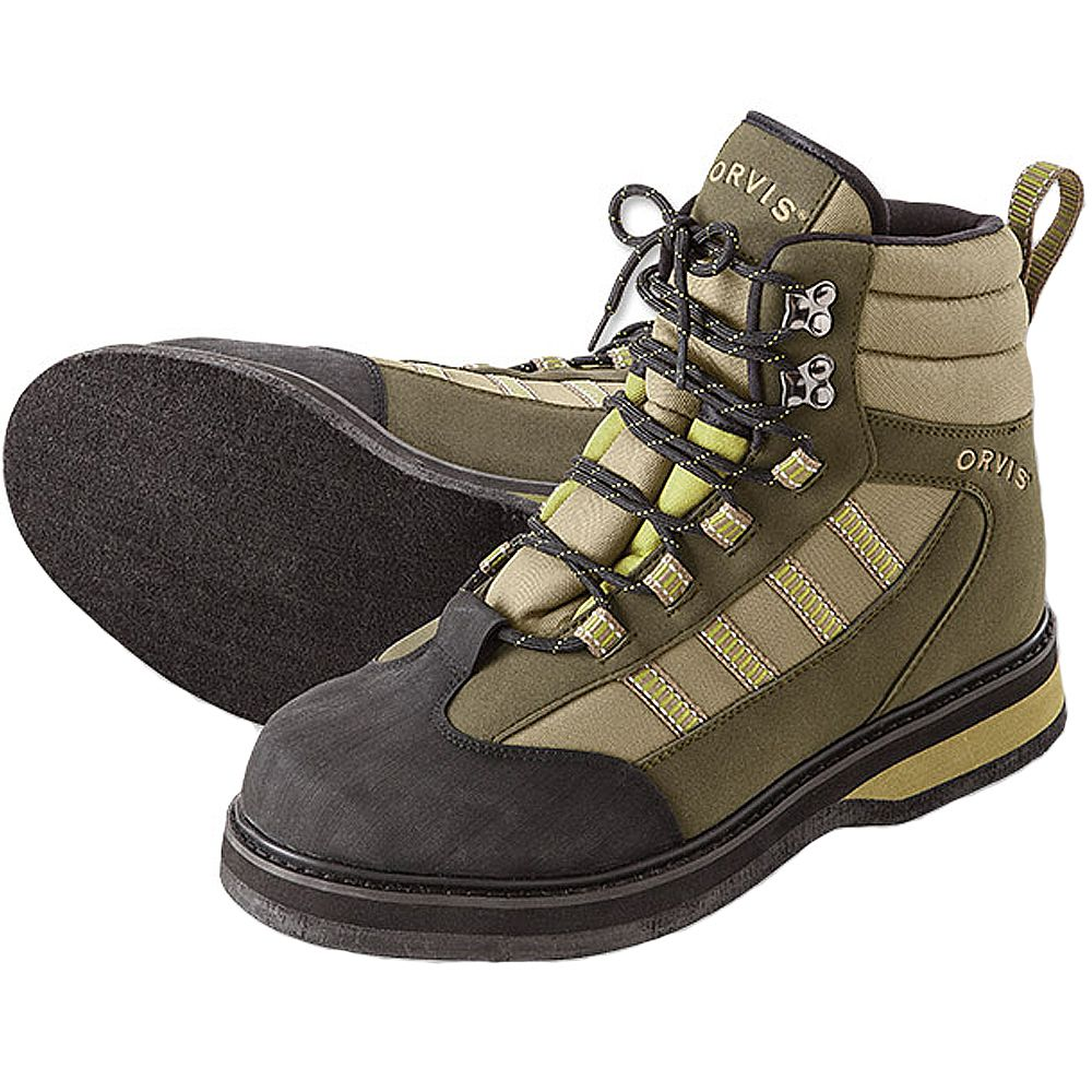 Ботинки Orvis Encounter Boot - Felt (14, Tan/Olive)