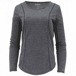 Термофутболка Simms Women's Lightweight Core Top (Black, XS)