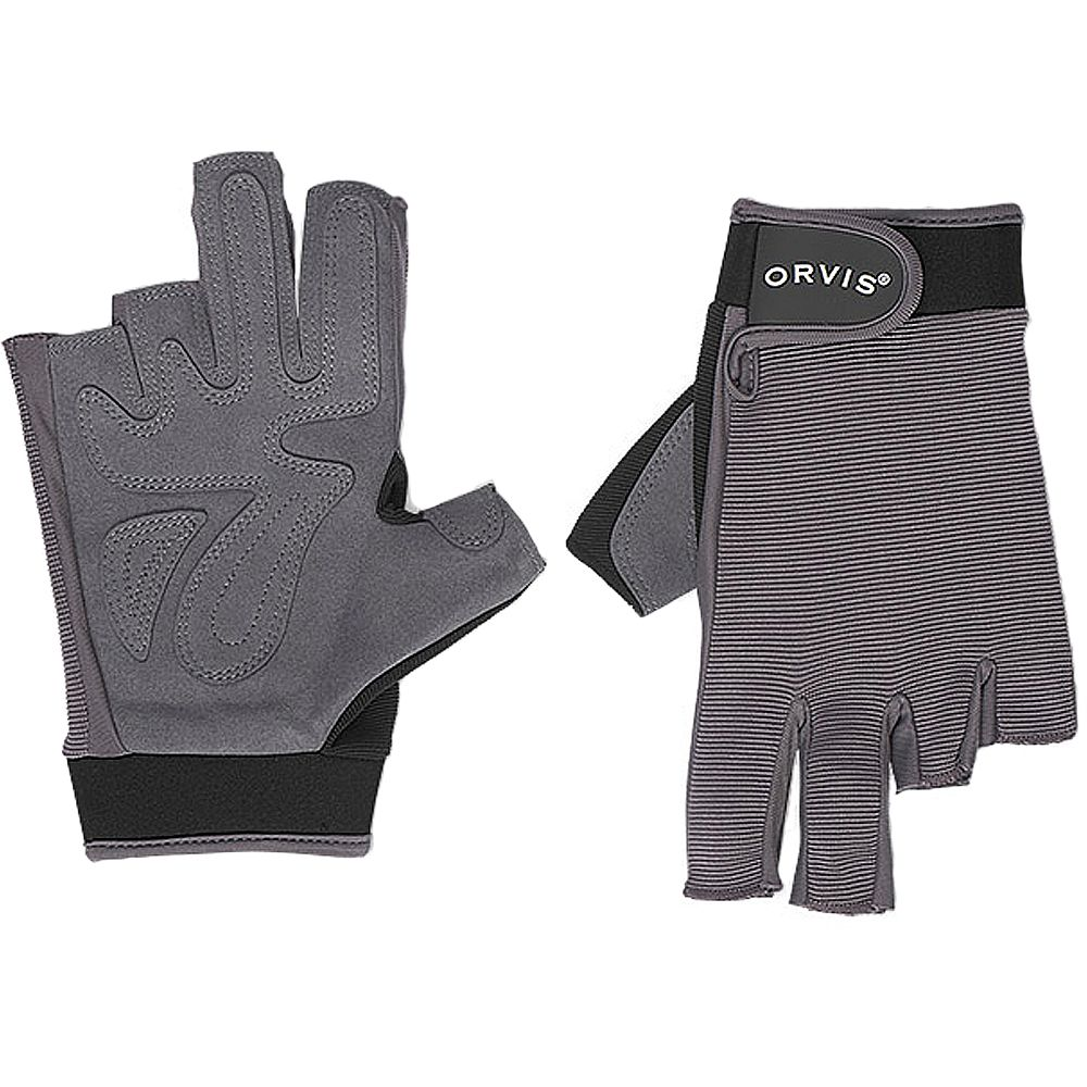 Перчатки Orvis Fighting Sun Gloves (XXL, Grey)