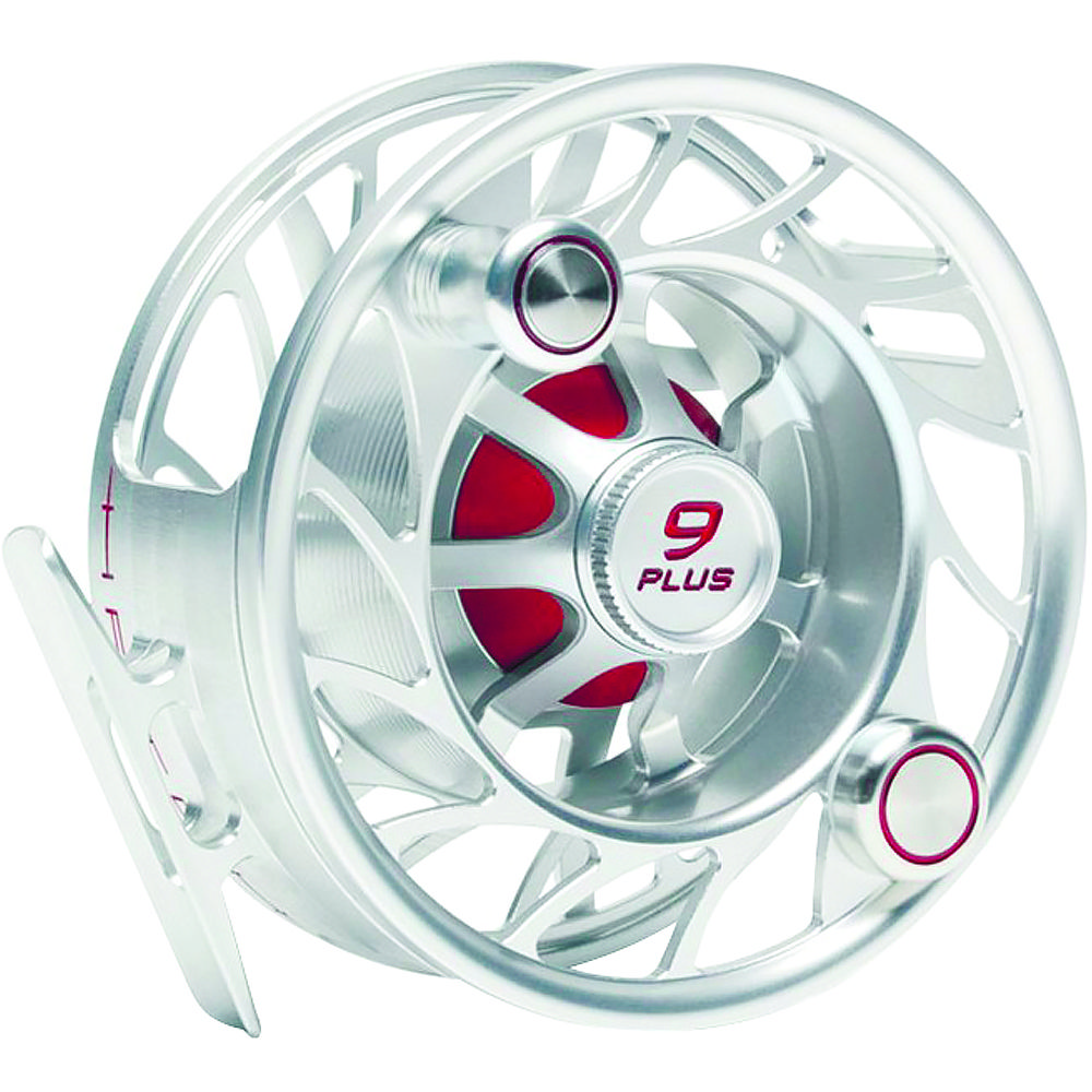 Катушка Hatch Finatic 9 Plus (#9/10, Mid Arbor, Clear/Red)