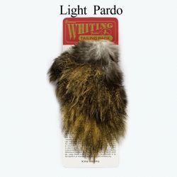 Перо Whiting Coq de Leon Tailing Pack (Light Pardo)