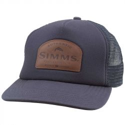 Кепка Simms Leather Patch Trucker