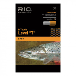 Сменный конец в размотке Rio Intouch Level T Bulk 500ft/152.4m (T-14, 1 m, 30lb, 13.6kg, Dark Blue)