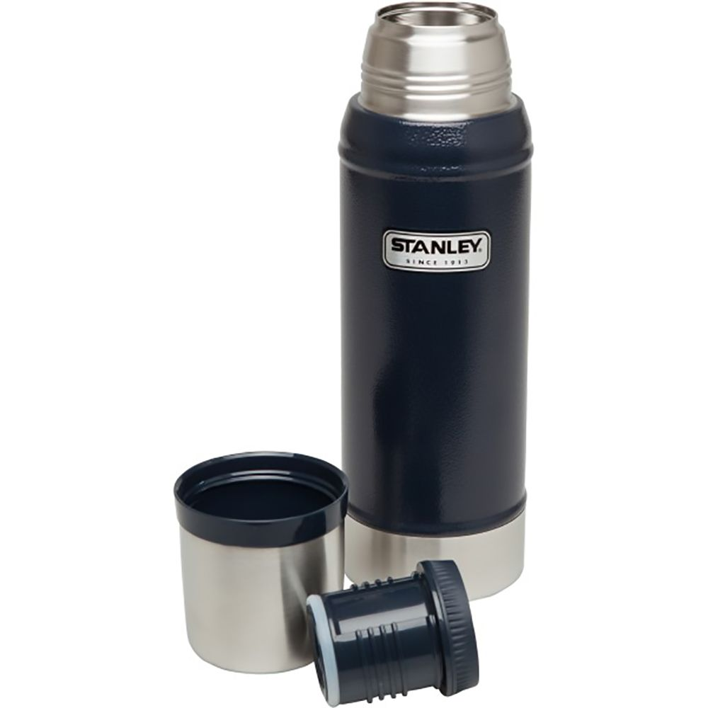 Термос Stanley Classic Vacuum Insulated Bottle 0,75л. (Hammertone Navy)
