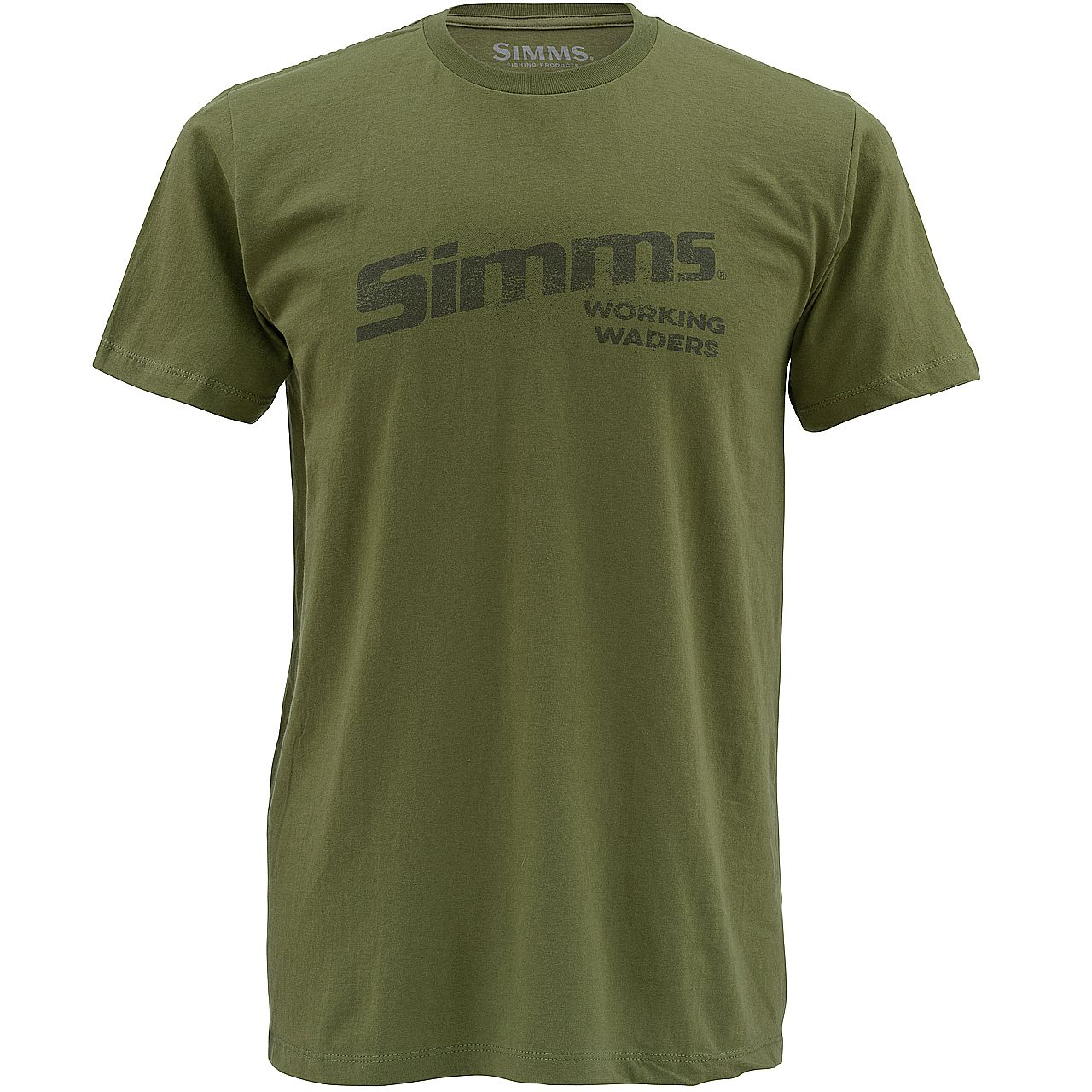 Футболка Simms Working Waders SS T-Shirt (L, Olive)