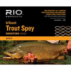 Шнур RIO InTouch Trout Spey SHD (230gr, #2, Yellow/Orange)