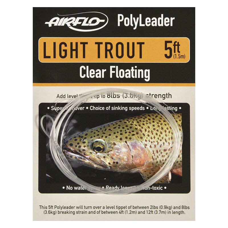 Полилидер Airflo Light Trout 5' (5ft, 8lb, Hover)