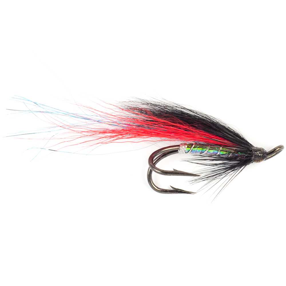 Мушка FREDit Long Tail Black/Red (#6)