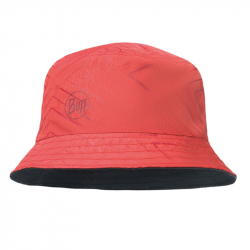 Панама Buff Travel Bucket Hat Collage (Red/Black)