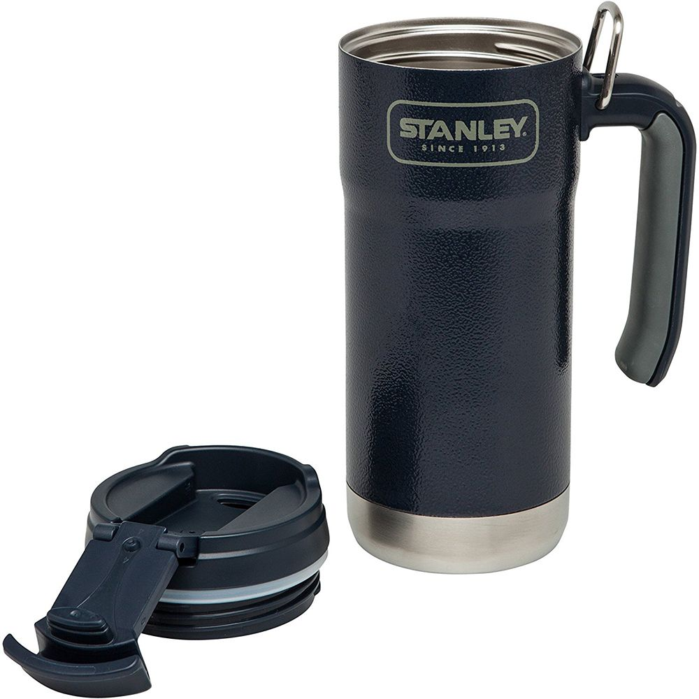 Термокружка Stanley Adventure Vacuum Insulated Travel Mug 0,47л. (Hammertone Navy)