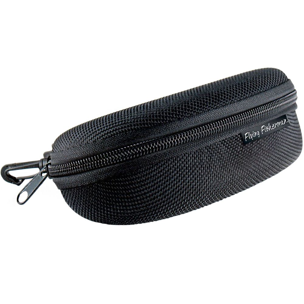 Чехол для очков Flying Fisherman Shell Case with Zipper (Black)