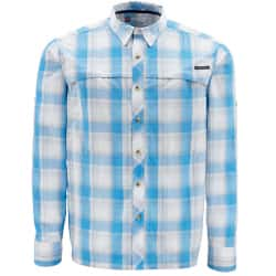 Рубашка Simms Stone Cold LS Shirt (XL, Cornflower Plaid)
