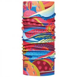 Бандана Buff Junior High UV Protection Buff Colourful Mountains Multi (Colourful Mountains Multi)