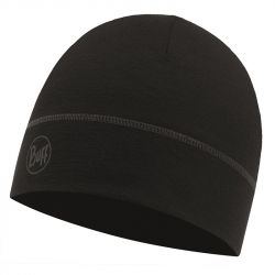 Шапка Buff Lightweight Merino Wool 1 Layer Hat (Solid Black)