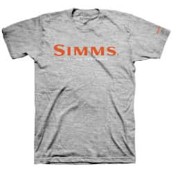Футболка Simms Logo T-Shirt (M, Grey Heather)