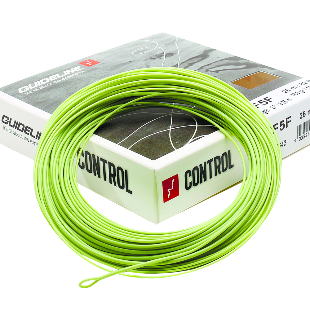 Шнур Guideline Control Evolve (WF5F, Olive Two-Tone)