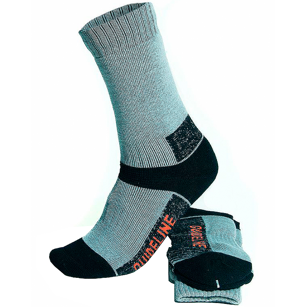 Носки Guideline Enduro Socks (XL, Grey/Black)