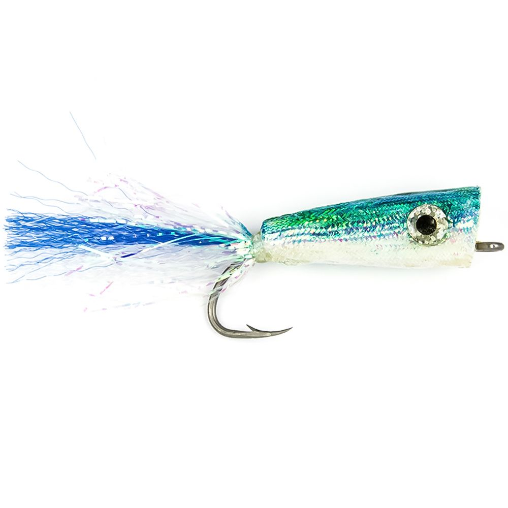 Мушка Spirit River Saltwater Pearly Popper (#2/0, Blue/White)