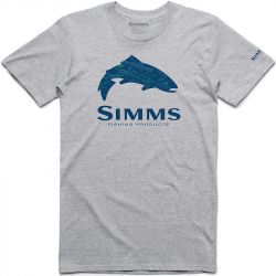 Футболка Simms Fire Hole Trout T-Shirt