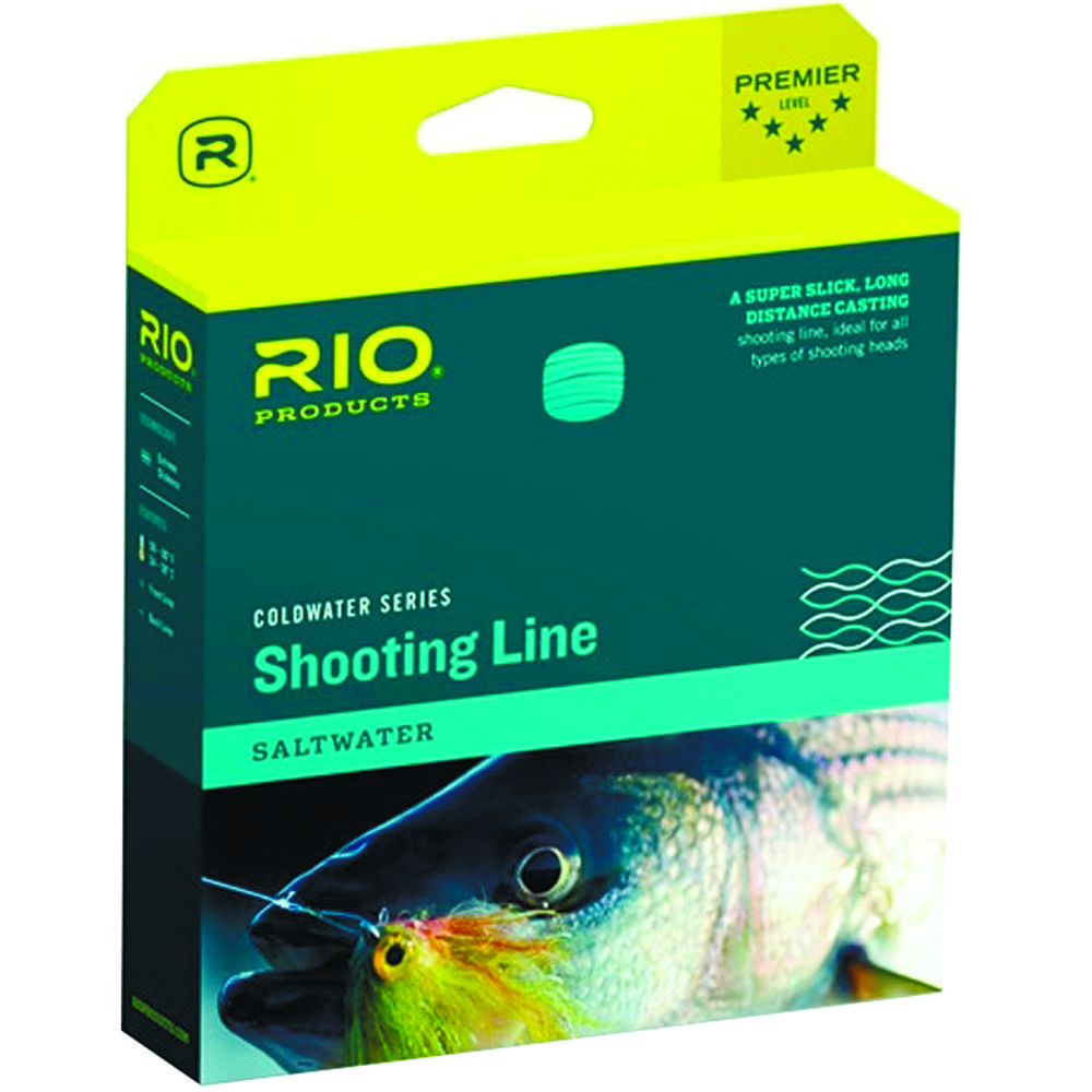 "Раннинг Rio Powerflex Saltwater Shooting Line (0.035"", 30lb, Floating, Blue)"