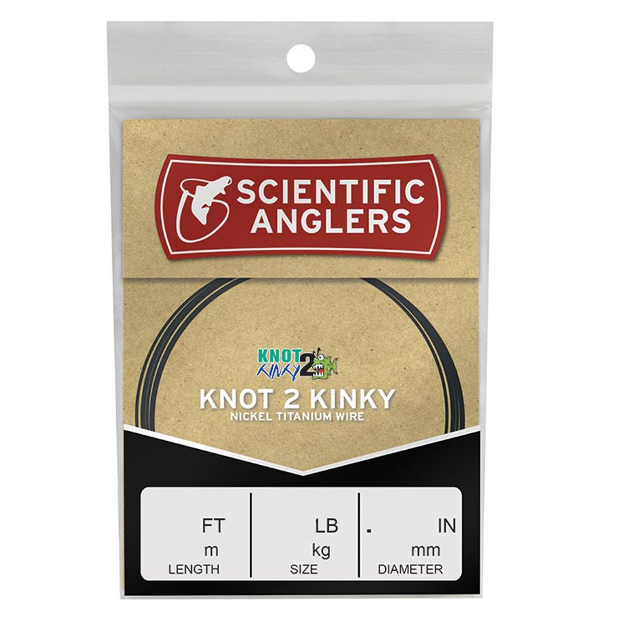 Поводковый материал Scientific Anglers Knot 2 Kinky Premium Wire Tippet