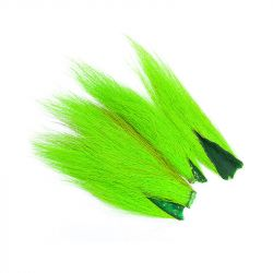 Мех Wapsi Bucktail Pieces (Fluor Chartreuse)