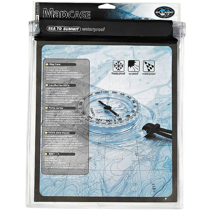 Гермочехол для карты Sea To Summit Waterproof Map Case (Medium)