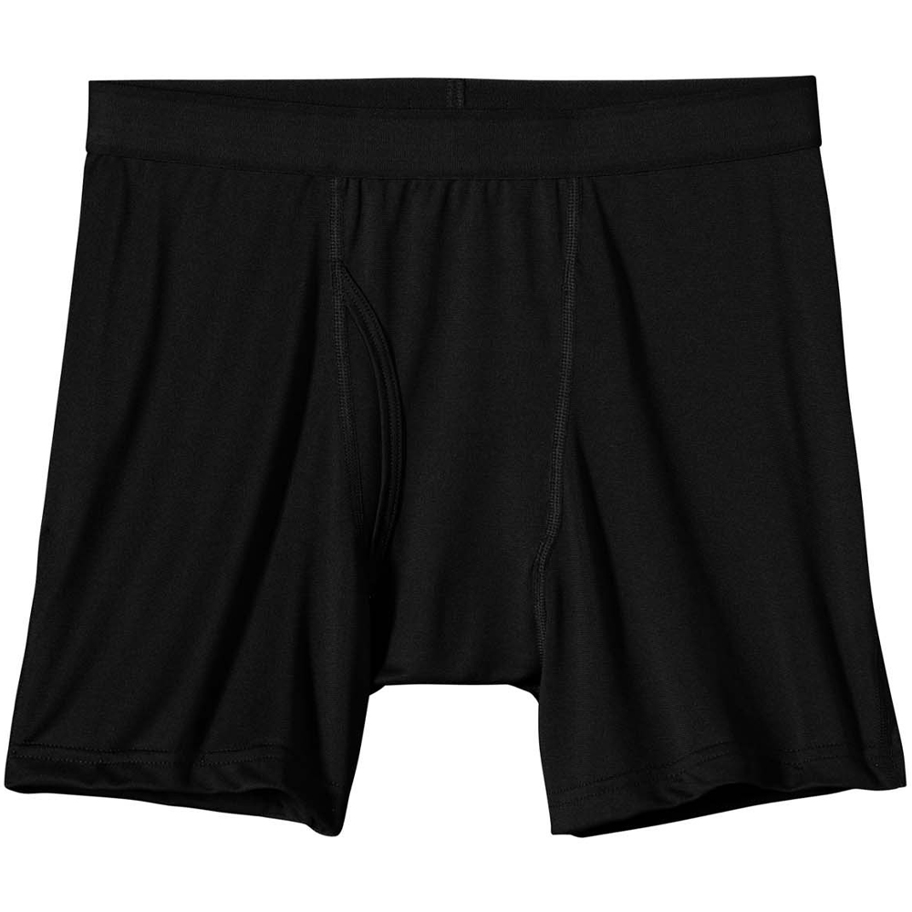 Трусы Patagonia Silkweight Boxer Briefs (S, Black)