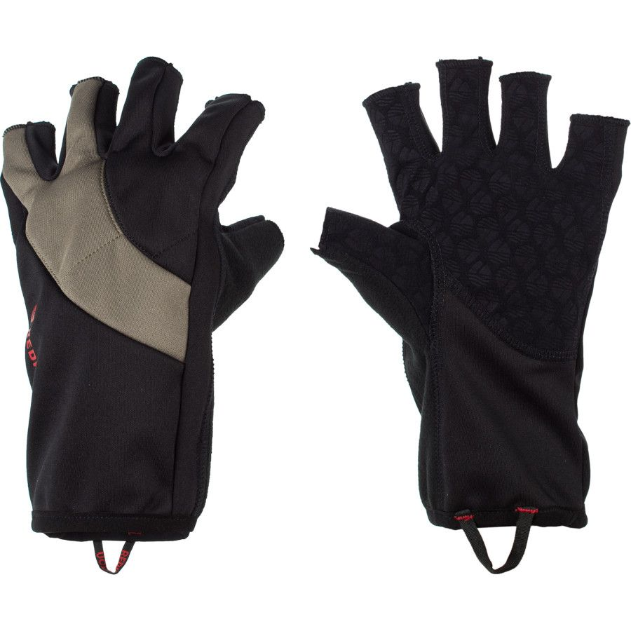 Перчатки Redington Windproof Fingerless Fleece Glove (L/XL, Black)