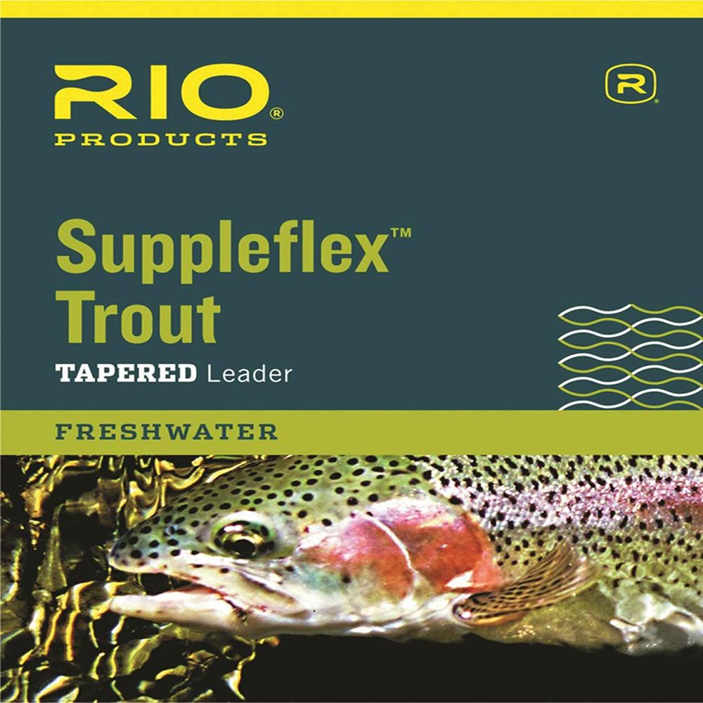 Подлесок Rio Suppleflex Trout Leader (3X, 9 ft., 8lb, 3.6kg)