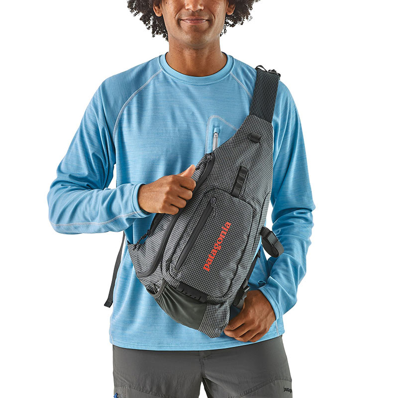 Рюкзак Patagonia Vest Front Sling (Forge Grey)