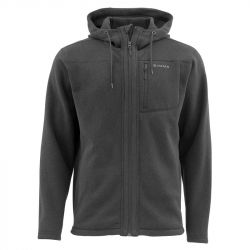 Куртка Simms Rivershed Full Zip Hoody (M, Black)