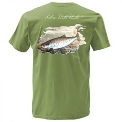 Футболка Simms Weiergang Seatrout SS T-Shirt (S, Olive)