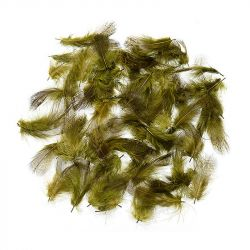 Перо Veniard Partridge English Grey Neck Grey Hackle (Medium Olive, 1gr)
