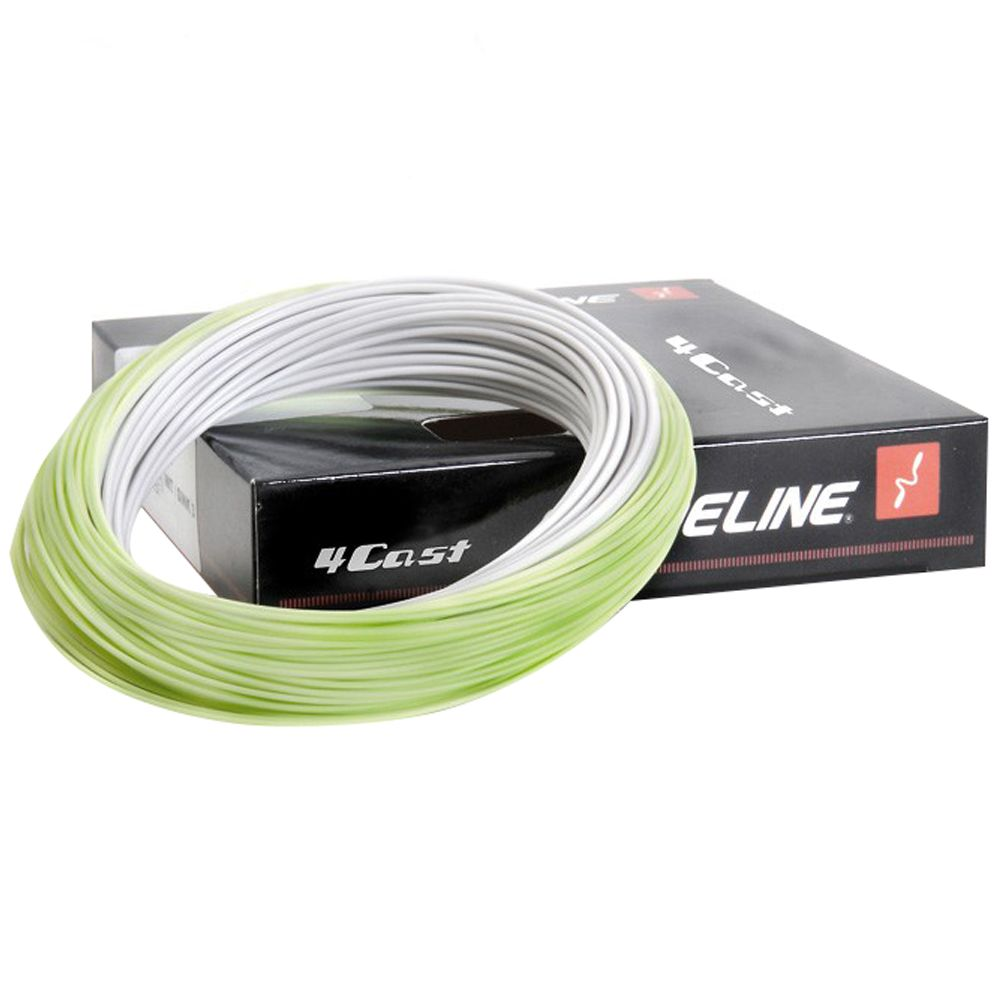Шнур Guideline 4Cast Floating (WF3F, Ivory/Faded Green)